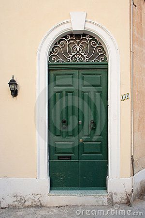 House door in Malta.