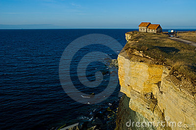 House on the Edge of a Cliff