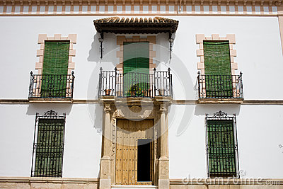 House Facade in Andalusia