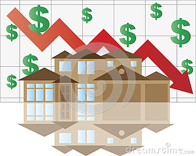 House Falling Value Graph