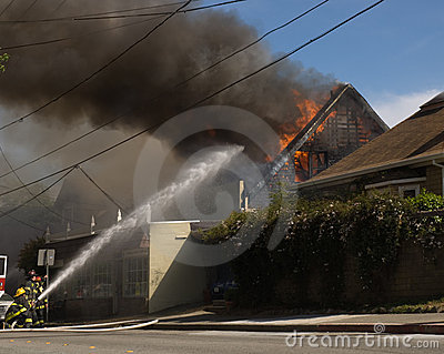 House fire in Mill Valley
