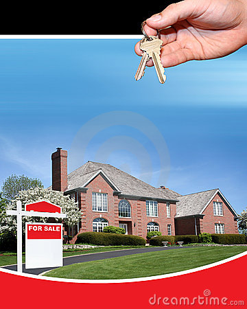 Free House For Sale Royalty Free Stock Photos - 815988