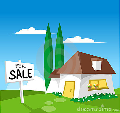 Free House For Sale Royalty Free Stock Image - 880416