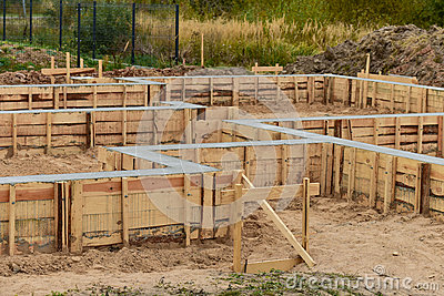 House foundation mounting stock photo image 60673482 - Houses with no footing going modern ...