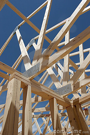 Free House Frame Construction Stock Photo - 172860