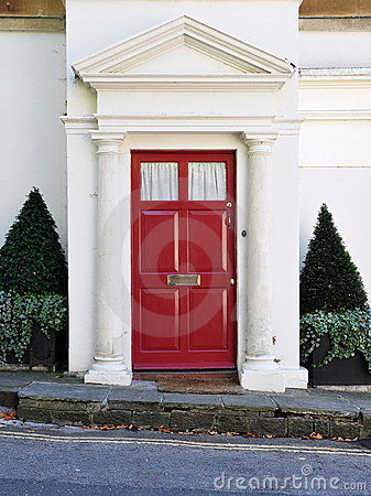 Free House Front Door Royalty Free Stock Photography - 21313027