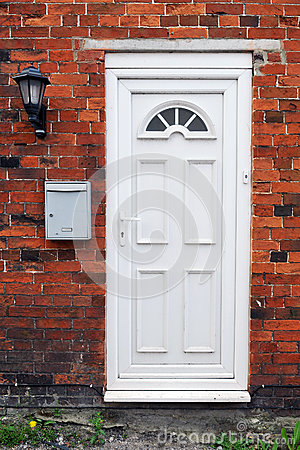 Free House Front Door Stock Image - 25179971