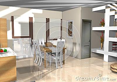 Stylish modern apartment