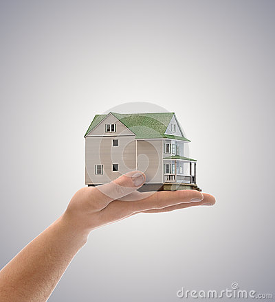 House In Hand Stock Images - Image: 24904344