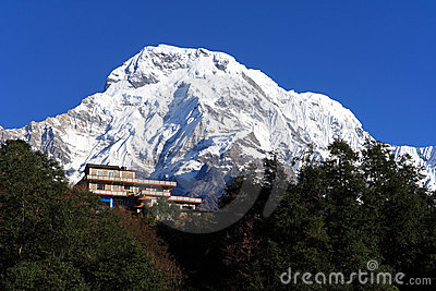 House,the Himalaya mountain peak