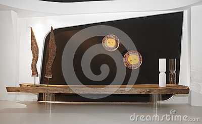 House hold modern decoration and art elements Editorial Stock Photo