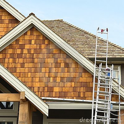 Free House Home Siding Roofing Stock Photos - 5130183