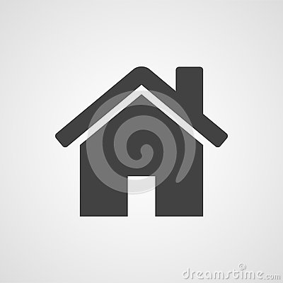 House or home vector icon Vector Illustration