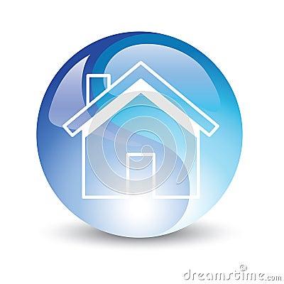 Free House Icon Internet Stock Photo - 13469270