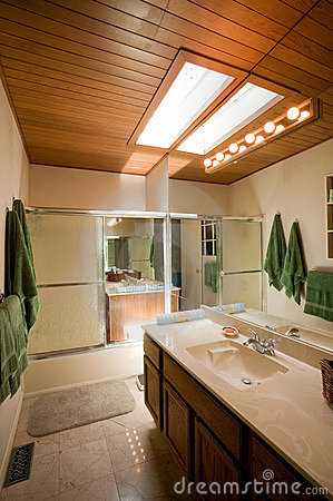 House interior bathroom