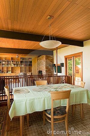House interior dining area