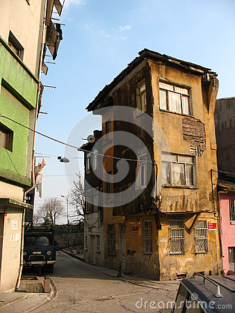 House in Istanbul s slums
