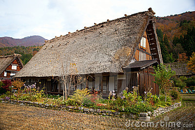 House in istoric village Shirakawa-go