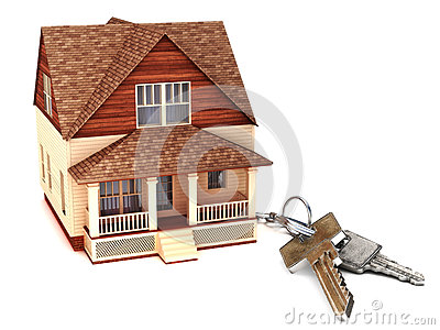 House with keys