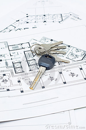 House keys and plan