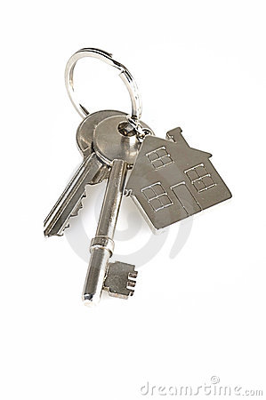 House Keys on White
