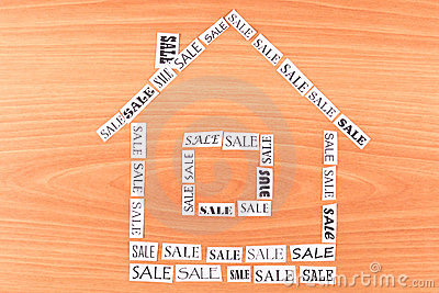 House made of paper SALE