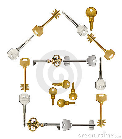 House made of keys