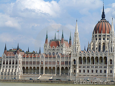 House of the nation and Danube