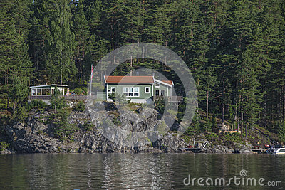 House near the waterfront at five sea