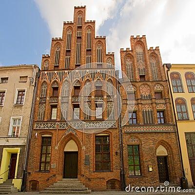 House of Nicholas Copernicus, Torun,  Poland