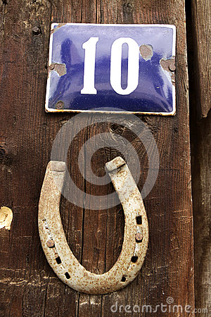Free House Number Stock Photography - 44283512