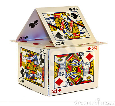 Free House Of Cards Stock Image - 8270841