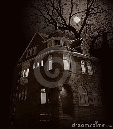 Free House Of Rising Moon Stock Photography - 957822