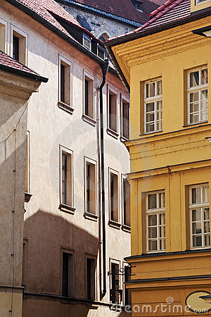 House in the old city of Prague