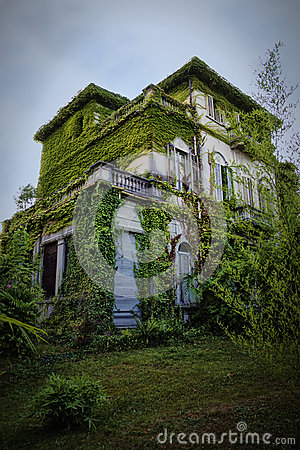 Free House On Haunted Hill Stock Photo - 26308820