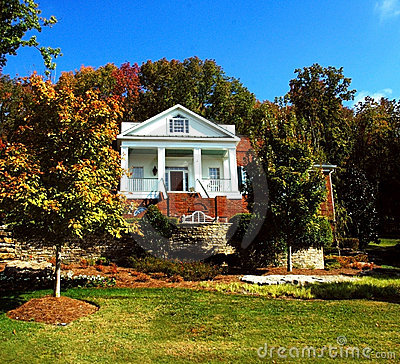 Free House On Hill Stock Photo - 1857930