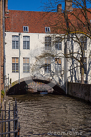 House Over a Canal Bruges