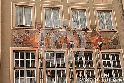 House painting. Munich