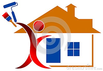 House paintng logo
