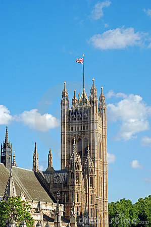 House of parliament london england