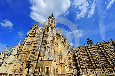 House of Parliament, London, UK Editorial Image