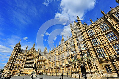 House of Parliament, London, UK Editorial Photo