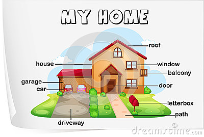 House Parts Royalty Free Stock Images Image 25426779