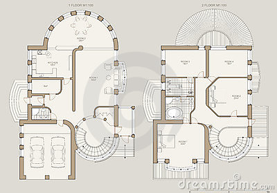 House plan - technical draw