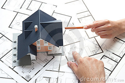 House Planning Stock Image Image 34802781