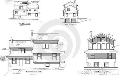 House plans elevation view