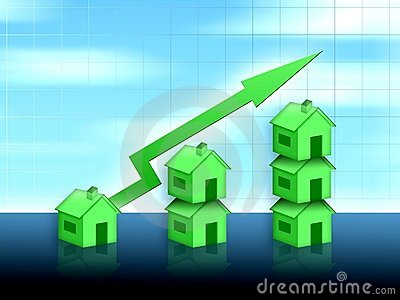 House property value up