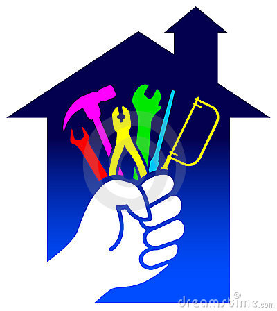 House renovation logo