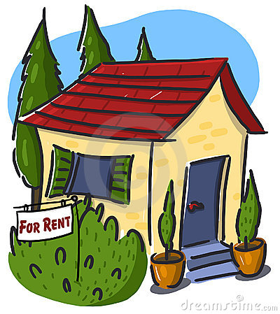House for rent illustration
