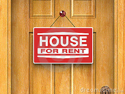 House for rent, real estate, home, door, advertise